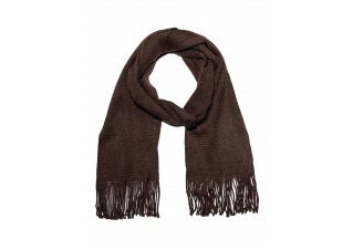 Men's scarf A101 - brown