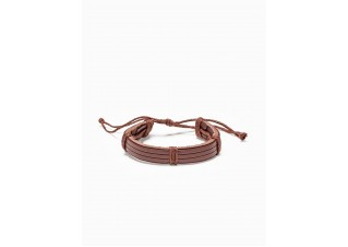 Men's bracelet on the strap A206 - camel