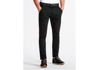 Men's pants chinos P830 - black