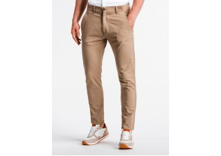 Men's pants chinos P830 - beige