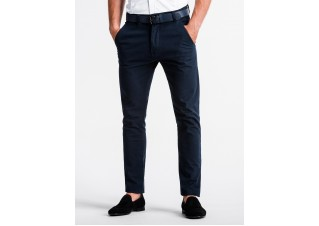 Men's pants chinos P830 - navy