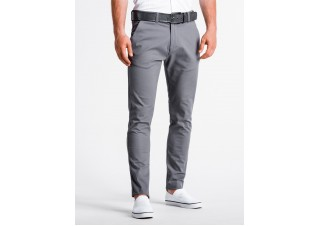 Men's pants chinos P830 - grey