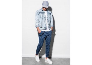 Men's mid-season jeans jacket C441 - light jeans