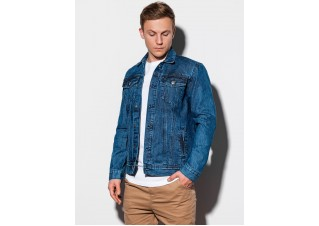 Men's mid-season jeans jacket C441 - jeans