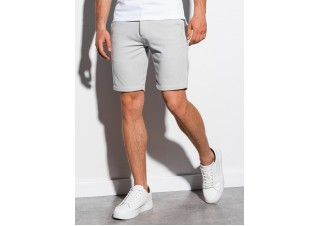 Men's casual shorts W224 - light grey