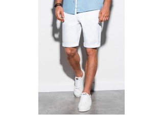 Men's casual shorts W243 - white