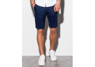 Men's casual shorts W243 - navy