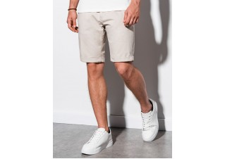 Men's casual shorts W243 - light beige
