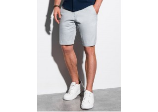 Men's casual shorts W243 - light grey