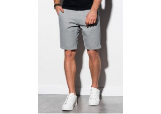 Men's casual shorts W243 - grey