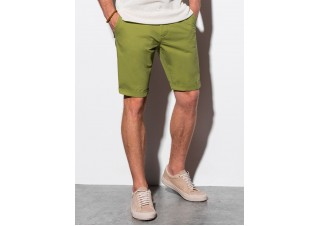 Men's casual shorts W243 - green