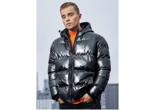 Men's winter jacket C463 - black