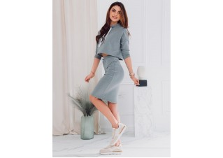 Women's skirt GLR002 - grey