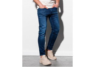 Men's jeans P1007 - dark blue