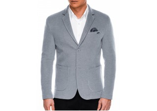 Men's casual blazer jacket M56 - grey
