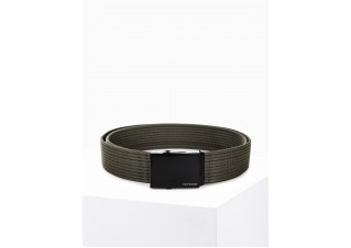Men's sackcloth belt A030 - green