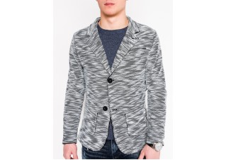 Men's casual blazer jacket M89 - grey