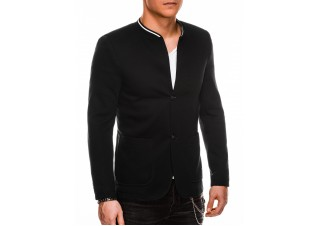 Men's casual blazer jacket M84 - black