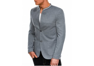Men's casual blazer jacket M84 - grey